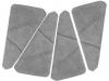 Płytki trójkątne