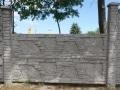 Ogrodzenie betonowe wzór 8