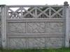 Ogrodzenie betonowe wzór 10