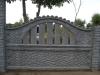 Ogrodzenie betonowe wzór 4