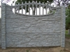 Ogrodzenie betonowe wzór 7